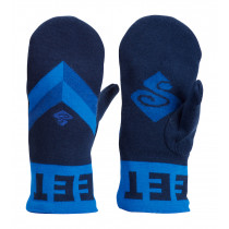 Sweet Protection Knitted Retro Mittens Midnight Blue