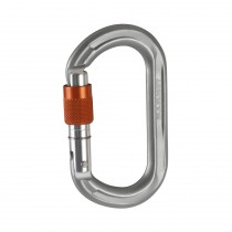 Mammut Wall Micro Oval Screw Gate grey