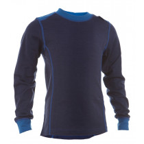 Matso Kids Shirt LS 100% Merino Twilight Blue/Skydiver