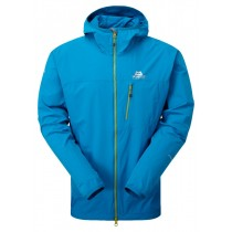 Mountain Equipment Echo Hooded Jacket Lagoon Blue