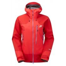 Mountain Equipment Manaslu Jacket Women's Imperial Red/Crimson/Neptune