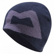 Mountain Equipment Branded Knitted Beanie Cosmos/Welshslate O/S