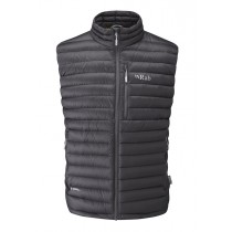 Rab Microlight Vest Beluga/Squash