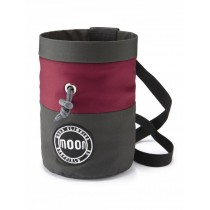 Moon S7 Retro Chalk Bag Grey/Maroon