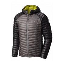 Mountain Hardwear Men's Ghost Whisperer Hooded Down Jacket Manta Grey