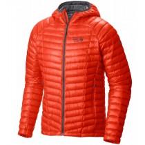 Mountain Hardwear Men's Ghost Whisperer Hooded Down Jacket State Orange