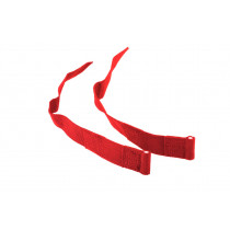 Non-Stop Dogwear Elastic Side Straps, Red 2.5 cm
