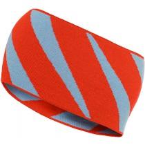 Norrøna /29 Reversible Striped Headband Hot Chili
