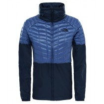 The North Face Women's Tansa Hybrid Thermoball Jacket Coasal Fjord Blue/Urban Navy