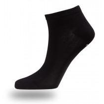 Felines Bamboo Ankle Sock Black 3pk Black