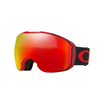 Oakley Airbrake Xl Obsessive Lines Red PRIZM TORCH IRIDIUM & PRIZM ROSE