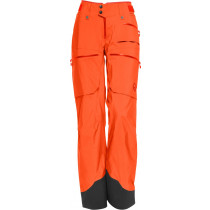 Norrøna Lofoten Gore-Tex Pro Light Pants (W) Orange Alert
