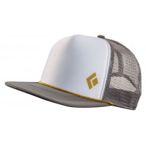 Black Diamond Flat Bill Trucker Hat Granite-Curry