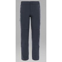 The North Face W Exploration Convertible Pant Asphalt Grey