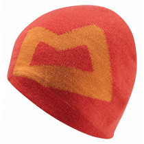 Mountain Equipment Branded Knitted Beanie Cardinal/Russet O/S