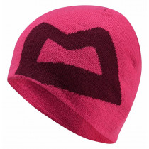 Mountain Equipment Branded Knitted Beanie Womens Vpink/Cranberry O/S