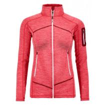 Ortovox Fleece Light Melange Jacket W Hot Coral