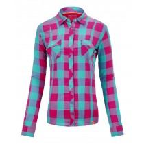 Ortovox Long Sleeve Stretch Back Shirt Women's Dark Very Berry