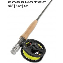 "Orvis Encounter Outfit 8'6""  #5 Flugfiskeset"