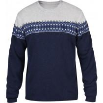 Fjällräven Övik Scandinavian Sweater Dark Navy