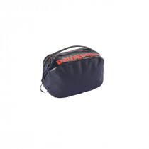 Patagonia Black Hole Cube - Small Navy Blue w/Paintbrush Red