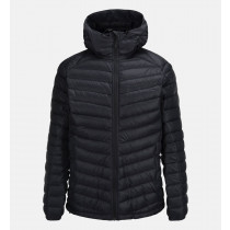 Peak Performance Men's Frost Down Hooded Jacket Black