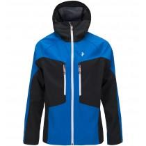Peak Performance Men's Tour Softshell Jacket Hero Blue