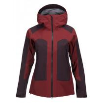 Peak Performance Women's Core 3-Layer Ski Jacket Dusty Wine