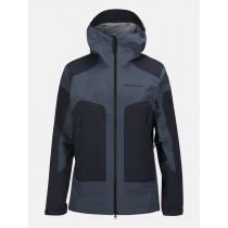 Peak Performance Core 3-Layer Ski Jacket Blue Steel