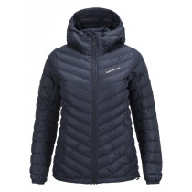 Peak Performance Women's Frost Down Hooded Jacket Mahogany