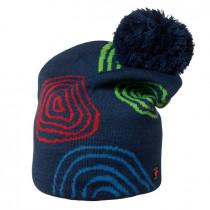 Isbjörn Of Sweden Peaks Knitted Cap Acrylic/Wool Navyblue