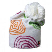 Isbjörn Of Sweden Peaks Knitted Cap Acrylic/Wool Snowwhite