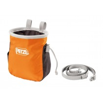 Petzl Saka Kalkpåse Orange