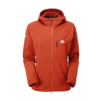 Mountain Equipment Echo Women's Hooded Jacket Cardinal Orange