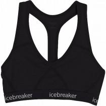 Icebreaker Women's Sprite Racerback Bra Black/Black