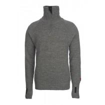 Ulvang Rav sweater w/zip Grå Melerad
