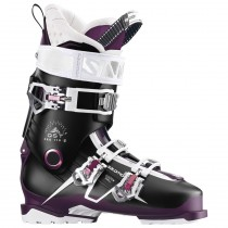 Salomon QST Pro 110 Women's Black/Burgandy/Pink