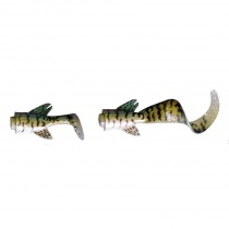 Savage Gear 3D LB Hybrid Pike Spare Tail Green Silver Pike 25cm