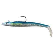 Savage Gear Sandeel Blue Silver 65g