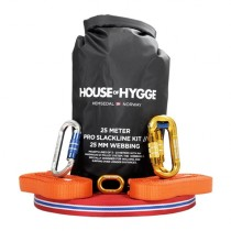 House Of Hygge, 25 meter Pro Slakkline Kit