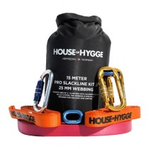 House Of Hygge, 15 meter Pro Slakkline Kit