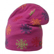Isbjörn Of Sweden Snowflake Knitted Cap Acrylic/Wool Smoothie