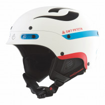 Sweet Protection Trooper Helmet White/Blue/Red