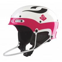 Sweet Protection Trooper SL Helmet Gloss White/Shock Pink