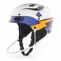 Sweet Protection Trooper SL Te Helmet Gloss White/Blue Boost