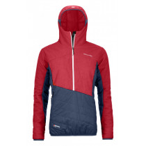 Ortovox Swisswool Dufour Anorak W Hot Coral