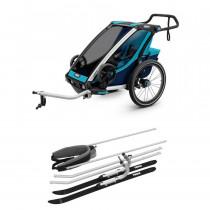 Thule Chariot Cross 1 inklusive Ski Kit