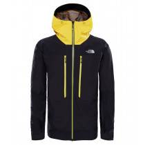 The North Face Men's Summit L5 GTX Pro Jacket Tnf Black/Canary Yellow