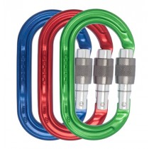 DMM Oval Keylock SG - Coloured Pack of 3