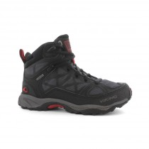 Viking Ascent Jr Gore-Tex Black/Red